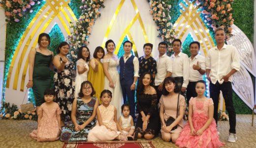 ベトナムの新婚夫婦と一緒に暮らすやんちゃな子は誰?